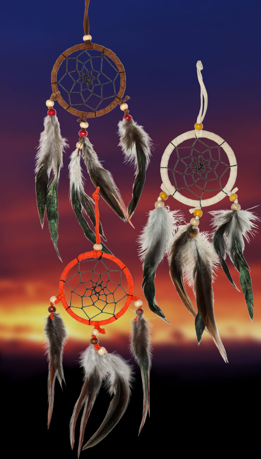 Shows an image of dreamcatchers owg014 on a scenic background