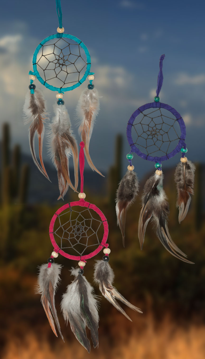 Shows an image of dreamcatchers owg015 on a scenic background